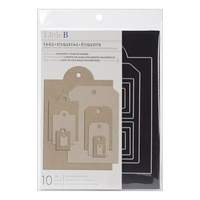 Little B Die Tags 10pc Inc Magnetic Storage Folder