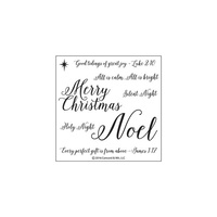 Concord & 9th Clear Stamp Set Holy Night