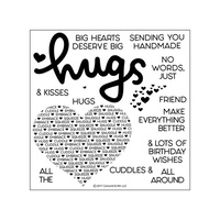 Concord & 9th Clear Stamp Set Cuddles & Hugs