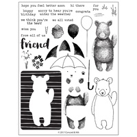Concord & 9th Clear Stamp Set Hi There Bear