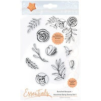 Tonic Studio Clear Stamp Set Bunched Bouquet Autumnal Sprig #1