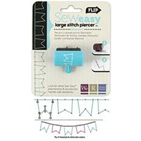 WE R MEMORY KEEPERS SEWEASY STITCH PIERCER BANNERS LARGE HEAD