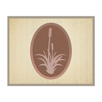 AUSTRALIANA 2 DIE COLLECTION SMALL GRASS TREE TAG SET 61X83MM