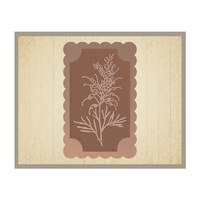 AUSTRALIANA 2 DIE COLLECTION GREVILLEA FRAME 77X123MM