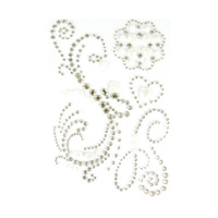 Ultimate Crafts Bling Flourish Magnolia Lane Collection Bling Flourish with Pearls