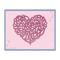Ultimate Crafts Die Magnolia Lane Heart 100x88.9mm