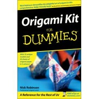 Origami for Dummies Book & Kit