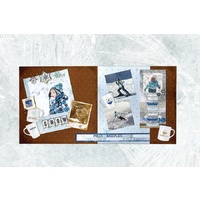 Bo Bunny 2 Page Layout Kit Whiteout