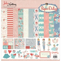 Prima Photo Play Julie Nutting Paper Dolls Collection Pack