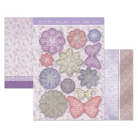 HUNKYDORY LACE IN BLOOM LUXURY TOPPER SET LAYERS & LACE
