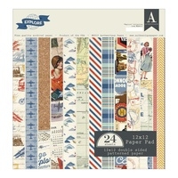 "Authentique Explore Paper Pad 12"" 24pk"