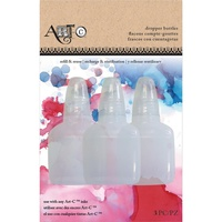 Art-C Dropper Bottles Empty 3pk