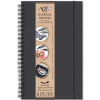 "Art-C Spiral Bound Journal 5x8"" Black"