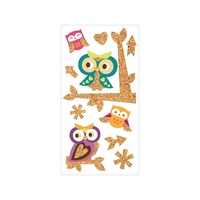 Paper House Stickers Corked Owls