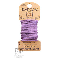 Hemptique Cord 6mt 20ft Lilac
