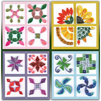 QUILLING KIT   QUILT BLOCKS