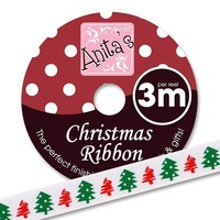 Anita's Christmas Ribbon 3mt Trees