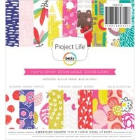 "PROJECT LIFE 6"" PLAYFUL PAPER PAD"
