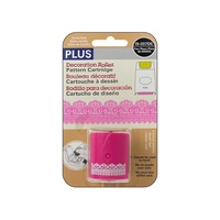Plus Decoration Roller Refill Cartridge Pink Lace