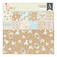"AUTHENTIQUE COZY COLLECTION 12x12"" PAPER PAD"