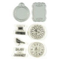 STAMP AND CUT: ENJOY THE JOURNEY