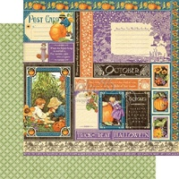 Graphic 45 Children's Hour Collection Paper October Collective