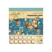 "Graphic 45 8"" Paper Pad Childrens Hour Calendar Pad"