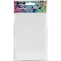 "Dylusions Adhesive Canvas 3.375x5.25"" 8pk"