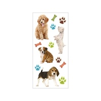 PAPERHOUSE PUFFY STICKERS PUPPIES