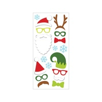 PAPERHOUSE PUFFY STICKERS XMAS COSTUME