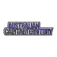 AUSTRALIAN CAPITAL TERRITORY WORD STICKER