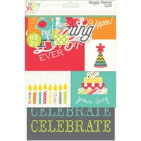 Simple Stories Card Pack Lets Party