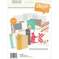 Snap 6x8 Journal Pages Lets Party