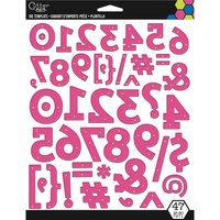 EK Success Cutter Bee Die Numbers, Punctuation, Symbols