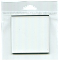 Joggles Clear Acrylic Stamp Mount 3x3""