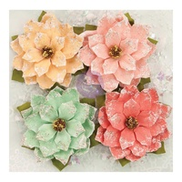 Prima Flowers Sweet Peppermint First Snowfall 4pc