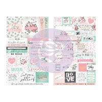 Prima Havana Stickers Word & Quote 55pc