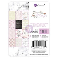 "Prima Cherry Blossom 3x4"" Journaling Card Pad 45pg"
