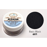 Elizabeth Craft Designs Silk Microfine Glitter 11g Basic Black