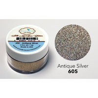 Elizabeth Craft Designs Silk Microfine Glitter 11g Antique Silver