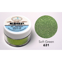 Elizabeth Craft Designs Silk Microfine Glitter 11g Soft Green