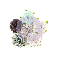 Prima Flirty Fleur Paper Flowers Dots & Stripes