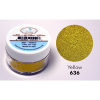 Elizabeth Craft Designs Silk Microfine Glitter 11g Yellow