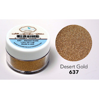 Elizabeth Craft Designs Silk Microfine Glitter 11g Desert Gold