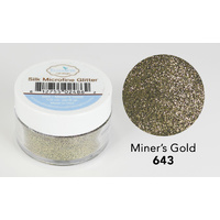 Elizabeth Craft Designs Silk Microfine Glitter 8gm Miner's Gold