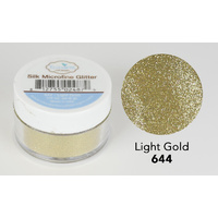 Elizabeth Craft Designs Silk Microfine Glitter 8gm Light Gold