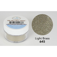 Elizabeth Craft Designs Silk Microfine Glitter 8gm Light Brass