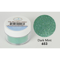 Elizabeth Craft Designs Silk Microfine Glitter 8gm Dark Mint