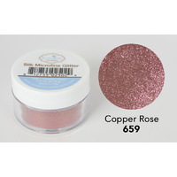Elizabeth Craft Designs Silk Microfine Glitter 8gm Copper Rose