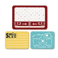 Sizzix Thinlits Dies Smile For The Camera 3pc Life Made Simple